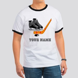 Hockey Equipment (Custom) T-Shirt