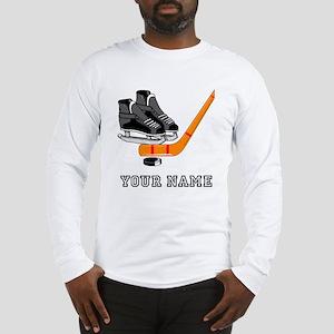 Hockey Equipment (Custom) Long Sleeve T-Shirt