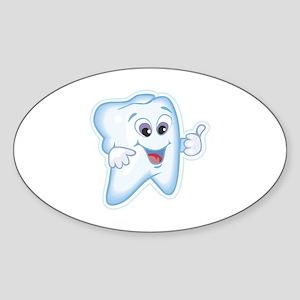 Dentist Dental Hygienist Sticker (Oval)