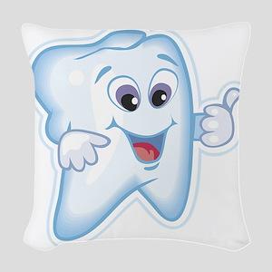 Dentist Dental Hygienist Woven Throw Pillow