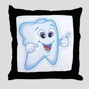 Dentist Dental Hygienist Throw Pillow