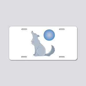 Howl At Moon Aluminum License Plate