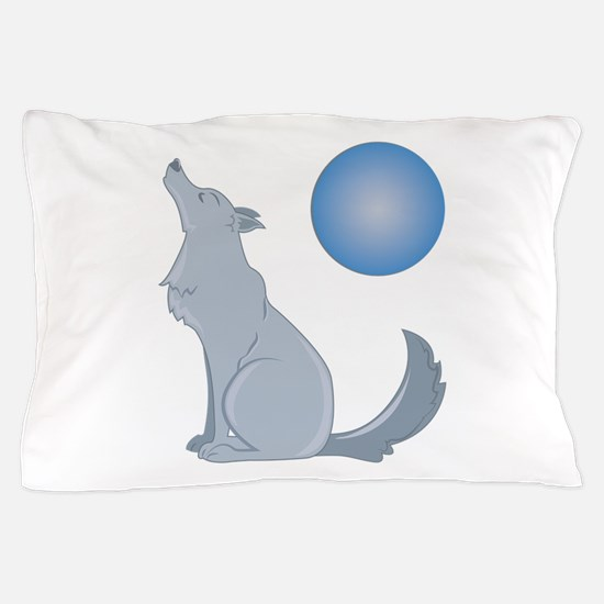 Howl At Moon Pillow Case