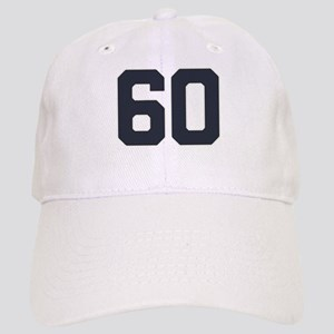 60 60th Birthday 60 Years Old Cap
