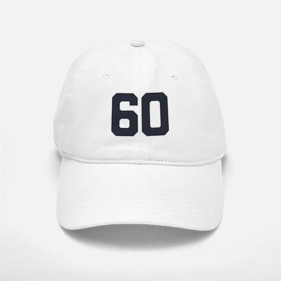 60 60th Birthday 60 Years Old Baseball Baseball Cap