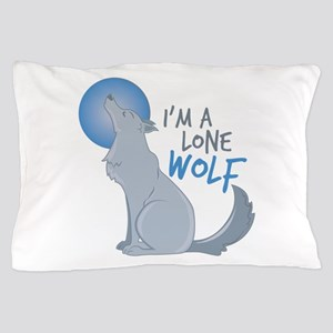 Lone Wolf Pillow Case