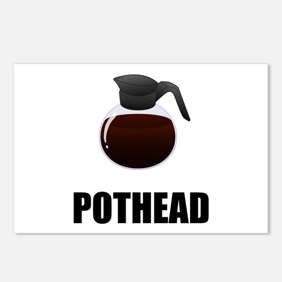 Coffee Pothead Postcards (Package of 8)
