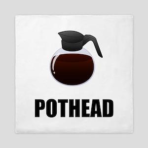 Coffee Pothead Queen Duvet