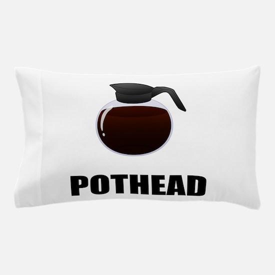 Coffee Pothead Pillow Case