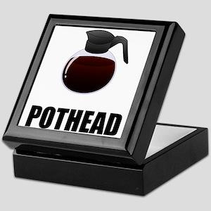 Coffee Pothead Keepsake Box