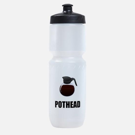 Coffee Pothead Sports Bottle