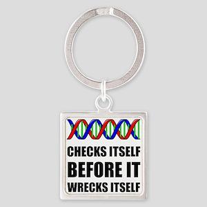 DNA Checks Wrecks Keychains