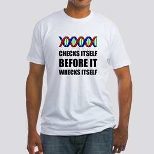 DNA Checks Wrecks T-Shirt