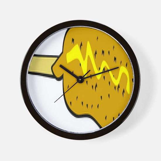 Corndog Wall Clock