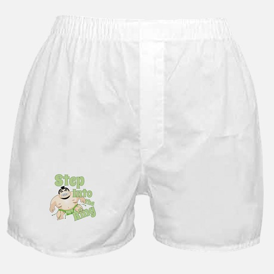 Step Into The Ring Boxer Shorts