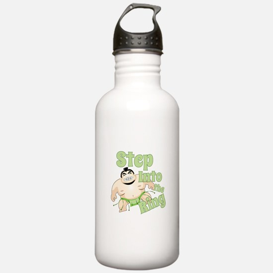 Step Into The Ring Water Bottle