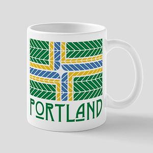 Chevron Portland Mugs