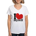 I LOVE Myself Women's V-Neck T-Shirt