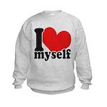 I LOVE Myself Kids Sweatshirt