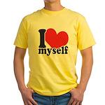 I LOVE Myself Yellow T-Shirt