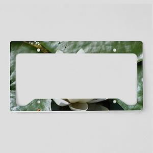 Lotus License Plate Holder