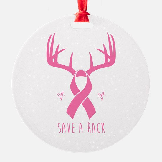 Save a Rack (Pink) Ornament