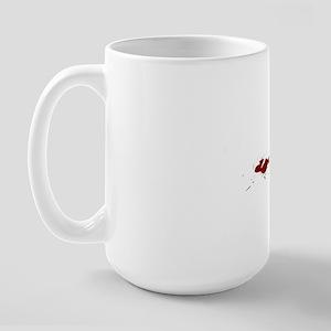 Killing It...With Words Black Large Mug