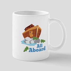 All Aboard Mugs