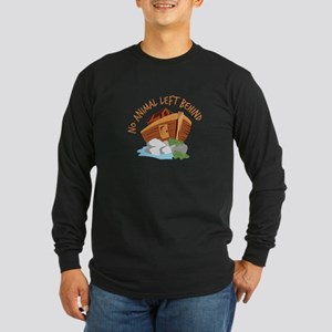No Animal Left Long Sleeve T-Shirt