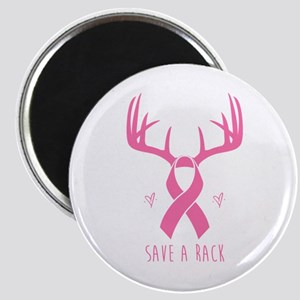 Save a Rack (Pink) Magnets