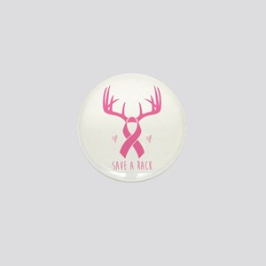 Save a Rack (Pink) Mini Button