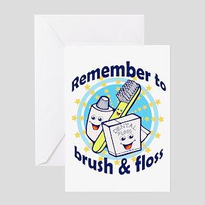 Dentist Dental Hygienist Greeting Cards
