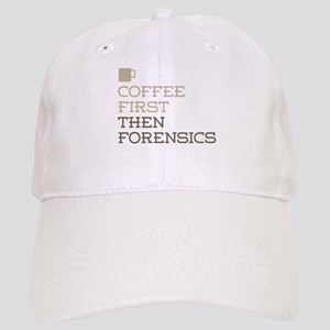 Coffee Then Forensics Cap