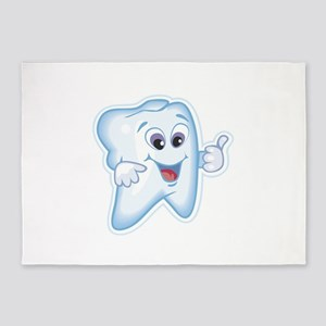 Dentist Dental Hygienist 5'x7'Area Rug