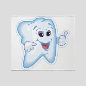 Dentist Dental Hygienist Throw Blanket
