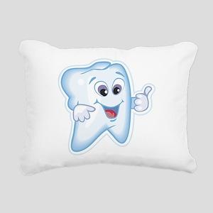Dentist Dental Hygienist Rectangular Canvas Pillow