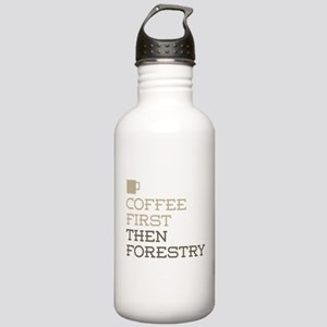 Coffee Then Forestry Stainless Water Bottle 1.0L