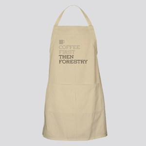 Coffee Then Forestry Apron