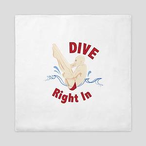 Dive Right In Queen Duvet