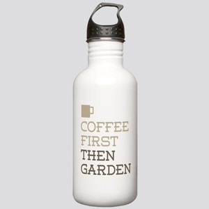 Coffee Then Garden Stainless Water Bottle 1.0L