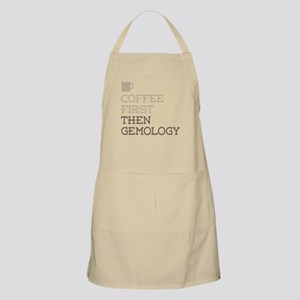 Coffee Then Gemology Apron
