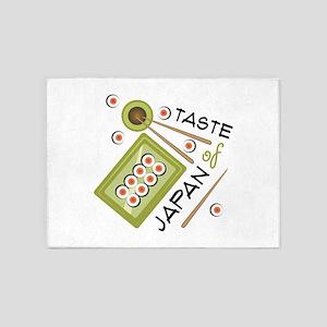 Taste Of Japan 5'x7'Area Rug