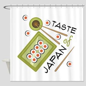 Taste Of Japan Shower Curtain