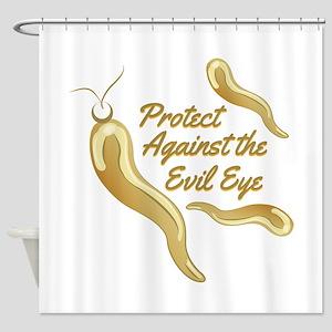 Protect Evil Eye Shower Curtain