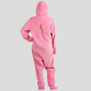 Protection Charm Footed Pajamas