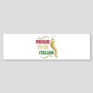 Proud Italian Bumper Sticker