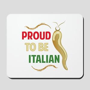 Proud Italian Mousepad