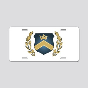 Royal Crest Aluminum License Plate