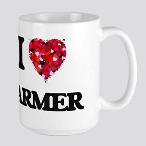 I Love Farmer Mugs
