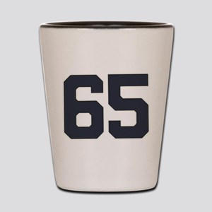 65 65th Birthday 65 Years Old Shot Glass